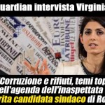 Virginia Raggi: la candidata sindaco favorita a Roma, da The Guardian #VirginiaRaggiSindaco